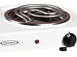 "Electric cooktop EPT2-T 2-2.0 kW/220V ""Two narrow tubular electric heating elements"""