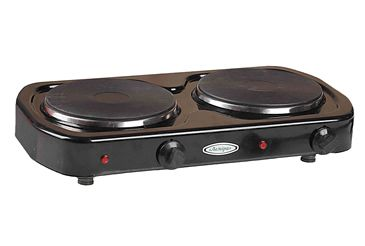 Two burner electric cooktops