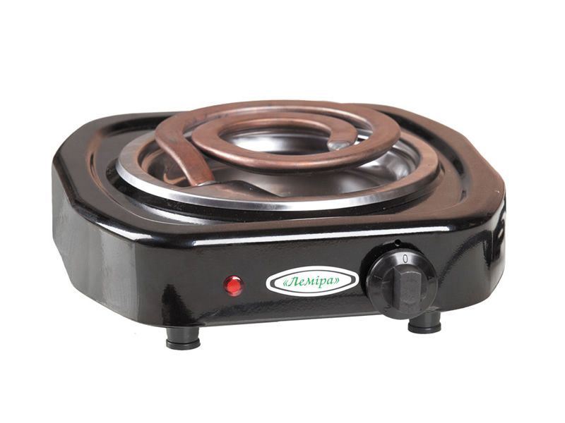 "Electric cooktop EPT 1-1.0 kW/220V ""Wide tubular electric heating element"""