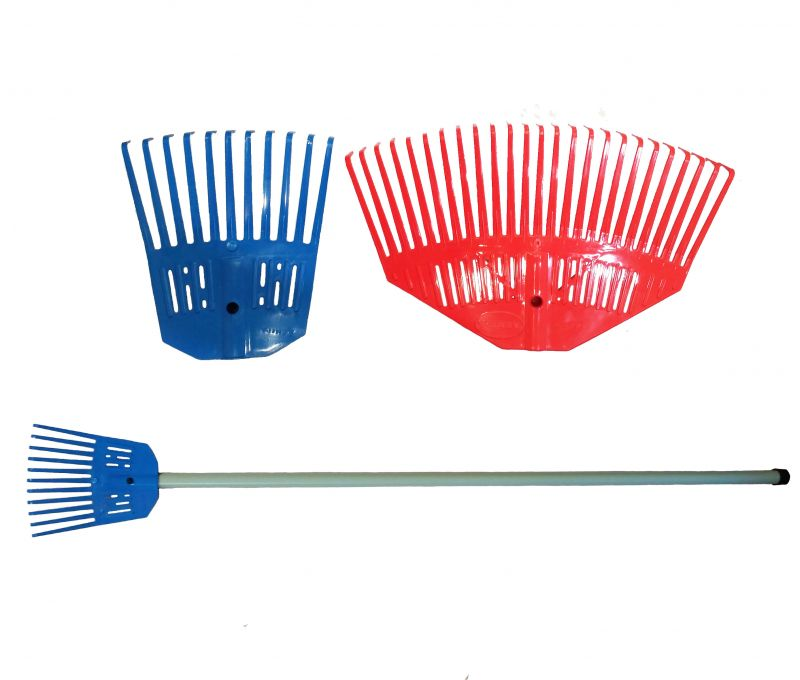 Set (rake 200 mm + rake 360 ​​mm + plastic handle with spring stopper)