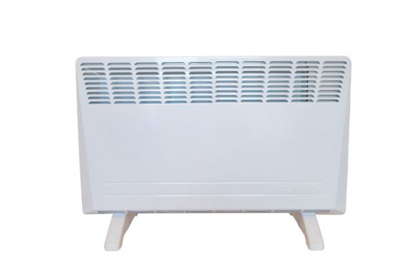 Electric convector heaters with aluminum monolithic X-type heating element