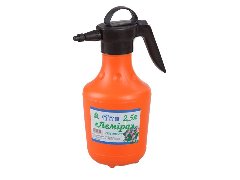 "Hand-operated sprayer ОP-301-02 ""Lemira"", 2.5 litres with spare parts"