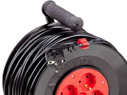 Portable power cord reel U16-01 PVS 2x2.5  30 m