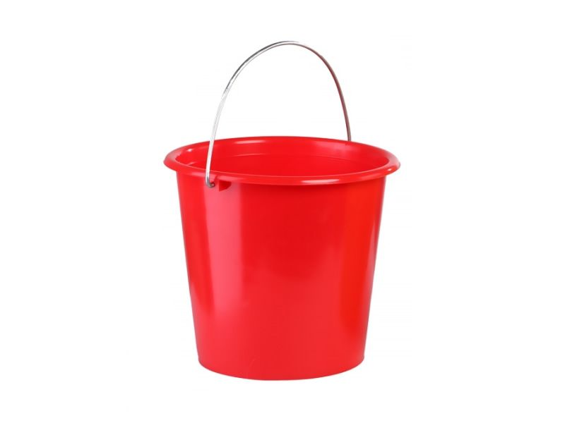 Garden plastic bucket, 10.0 l (colourful)
