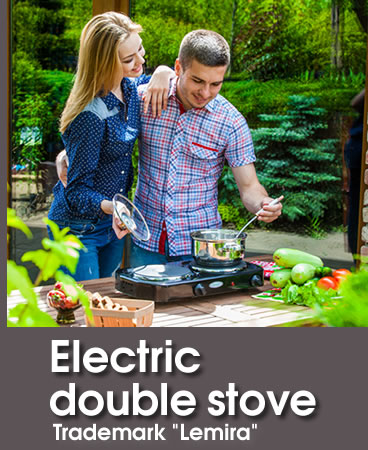 Electric  double stove Trademark Lemira